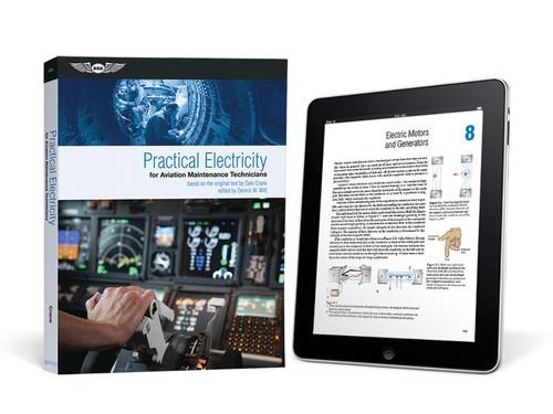 ASA Practical Electricity for Aviation Maintenance Technicians (eBundle)  (ASA-PR-ELEC-2X)-SkySupplyUSA ISBN: 978-1-61954-506-9
