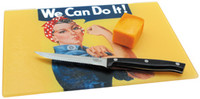 Rosie The Riveter Cutting Board  RR-CUTB