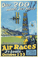 Air Races Tin Sign TN-RACE