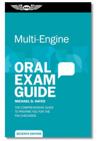 ASA Multi-Engine Oral Exam Guide  (ASA-OEG-ME7)-SkySupplyUSA 978-1-61954-462-8