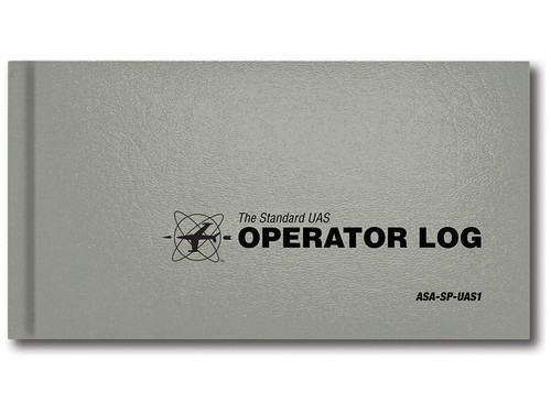 ASA Standard UAS Operator Log  (ASA-SP-UAS-1)-SkySupplyUSA