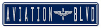"Aviation Blvd Sign - 20"" x 5"" SIGN-AVBLD-20"