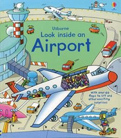 Usborne Board Book with Flaps! Airport  LOOK INSIDE-AIRPORT 978-0-7945-2772-3