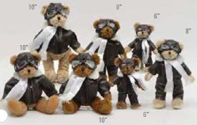 Teddy Bear-Pilot Suit-6 Inch FLYBEAR-6