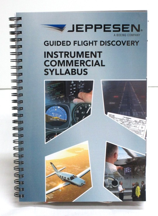 f2171c5a728 I C Syllabus 10001785-004 Jeppesen Instrument Commercial Syllabus New  Edition ISBN 9780884872283. Loading zoom