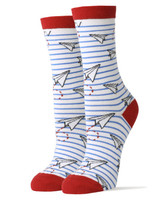 Paper Airplanes Men's Crew Socks PAP-SOCKS