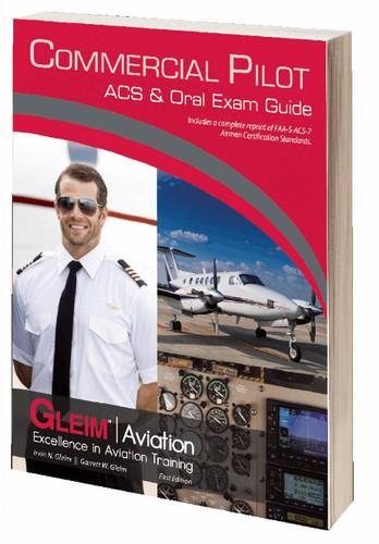 Gleim Commercial Pilot ACS & Oral Exam Guide  (GLEIM CPACS-1)-SkySupplyUSA