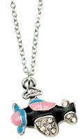 "18"" Enameled Airplane Necklace  (JN-EAP)-SkySupplyUSA"