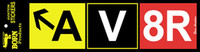 AV8R Bumper Sticker  (AS-AV8R)-SkySupplyUSA
