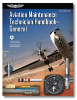 ASA-8081-AMT-4 Practical Test Standards The Aviation Maintenance Technician Handbook—General is designed for use by instructors and applicants preparing for the FAA Knowledge and Practical Exams for obtaining an FAA Aviation Maintenance Technician (AMT) certificate with airframe or powerplant ratings, or both (also called an A&P license). This volume was developed as one in a series of handbooks for this purpose; additionally, it is an invaluable reference guide for already-certificated technicians and those holding the Inspection Authorization (IA) rating who wish to improve their knowledge.  This FAA handbook discusses the principles, fundamentals, and technical procedures in subject matter areas common to the airframe and powerplant ratings: safety, ground operations an servicing, regulations, maintenance forms, records and publications, mathematics, aircraft drawings, physics, weight and balance, aircraft materials, hardware and processes, cleaning and corrosion control, fluid lines and fittings, inspection concepts and techniques, hand tools and measuring devices, electricity an electronics, inspection, mechanic privileges and limitations, and human factors. Also discussed are the ways that successful AMTs incorporate into their daily tasks the knowledge and awareness of ethics and professionalism. Illustrated throughout with detailed, full-color drawings and photographs, with a comprehensive glossary and index.  ISBN: 978-1-61954-692-9