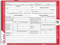 Gleim Commercial Pilot Flight Record  (G-CPTR-2)-SkySupplyUSA