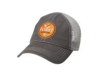 Flight Outfitters Grey Trucker Hat  (FO-MBH300-GY)-SkySupplyUSA