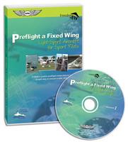 ASA Preflight a Fixed Wing Light-Sport Aircraft for Sport Pilots  (ASA-F2F-FW-PF)-SkySupplyUSA