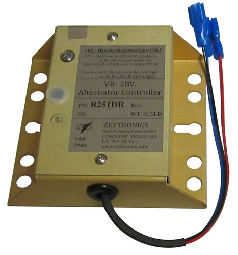 Zeftronics Alternator Controller R251DR SkySupplyUSA
