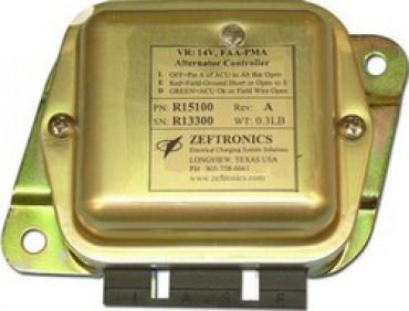 ZEFTRONICS VOLTAGE REGULATORS - GENERATOR CONTROLLERS FOR 28V TWIN ENGINE G225KN SkySupplyUSA