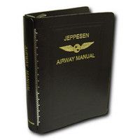 Jeppesen Stand. Leather Binder, BB-1 10001181-000
