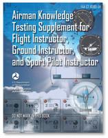 ASA Airman Knowledge Testing Supplement - Flight, Ground, and Sport Instructor (ASA-CT-8080-5H)-SkySupplyUSA