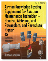 ASA FAA Knowledge Testing Supplement: AMT & Parachute Rigging  (ASA-CT-8080-4G)-SkySupplyUSA