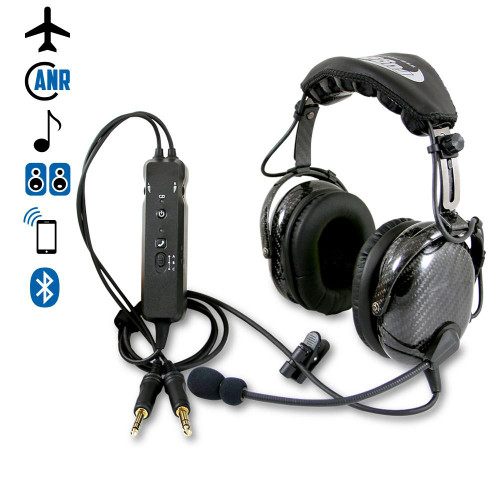 RA980 Wireless ANR General Aviation Pilot Headset  (RA980-BT-ANR)-SkySupplyUSA