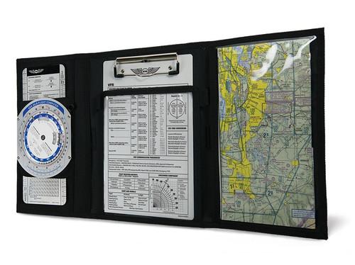 ASA Tri-Fold VFR Kneeboard New ASA-KB3-A