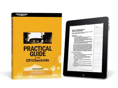 ASA Practical Guide to the CFI Checkride-eBundle PRACT-CFI2-2X 978-1-61954-711-7