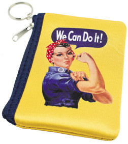 Rosie The Riveter Coin Purse RR-PUR