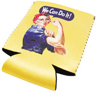 Rosie The Riveter Can Cooler RR-CAN
