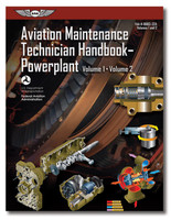 AMT Handbook - Powerplant: Volume 1 & 2 (softcover) - New edition ASA-8083-32A 978-1-61954-836-7 SkySupplyUSA.com