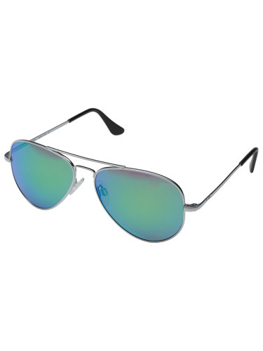 Randolph Engineering Concorde 57mm Matte Chrome Green Flash PC Sunglasses CR74467-PC