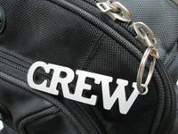 "Stainless Steel ""Crew"" Keychain KC-CREW SkySupplyUSA.com"