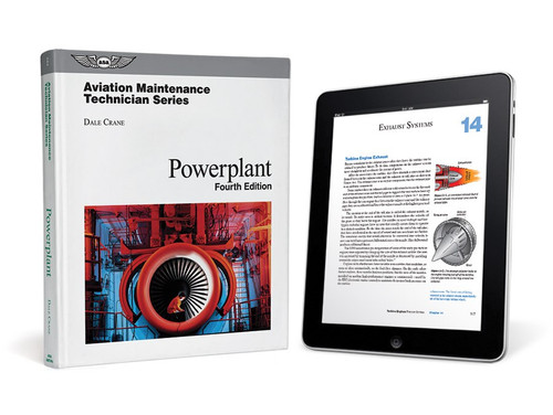 ASA AMT Powerplant Textbook (eBundle) - New 4th Edition  ASA-AMT-P4-2X 978-1-61954-649-3 SkySupplyUSA.com