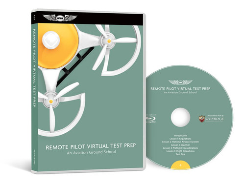 ASA Remote Pilot Virtual Test Prep  ASA-VTP-UAS 978-1-61954-746-9 SkySupplyUSA.com