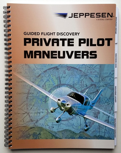 Jeppesen GFD Private Maneuvers Manual 10001361-005 JS314510 978-0-88487-658-8 SkySupplyUSA.com