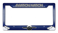 Aviation Nation License Plate Frame FRAME-AVN SkySupplyUSA.com