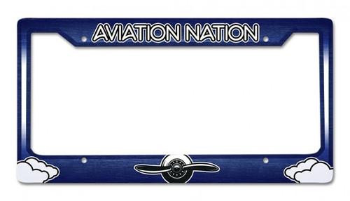 Aviation Nation License Plate Frame FRAME-AVN SkySupplyUSA.com