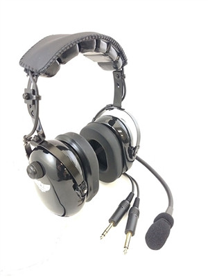 Avcomm AC-200 PNR Headset with Flex Boom AC-200FB SkySupplyUSA.com