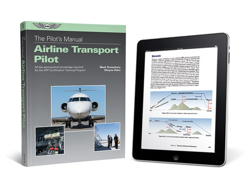 ASA Pilot's Manual: Airline Transport Pilot Certification Training Program - eBundle ASA-PM-ATP-2X ISBN: 978-1-61954-701-8 SkySupplyUSA.com