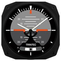 """Trintec 10"""" Horizon Instrument Style Clock  WAP-HOR-10 SkySupplyUSA.com"""