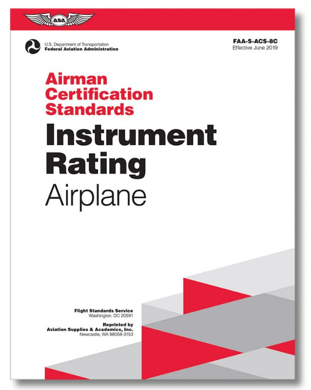 ASA ACS Instrument Rating Airplane (effective June 2019)