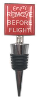 Empty Before Flight Bottle Stopper RM-EBS SkySupplyUSA.com