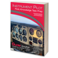 Gleim 2020 Instrument Knowledge Test Prep Book  G-TP-IP-20 978-1-61854-258-8 SkySupplyUSA.com