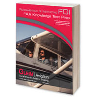 Gleim 2020 Fundamentals of Instructing Knowledge Test Prep Book  G-TP-FOI-20 978-1-61854-260-2 SkySupplyUSA.com
