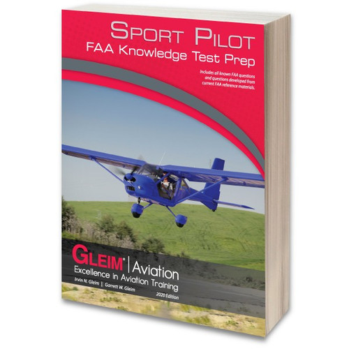 Gleim 2020 Sport Pilot Knowledge Test Prep Book G-TP-SP-20 978-1-61854-256-4 SkySupplyUSA.com