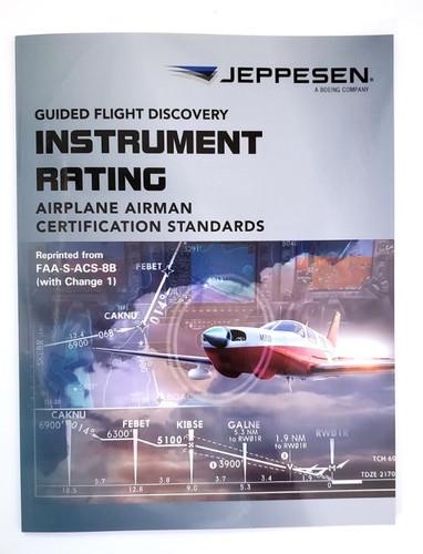 Jeppesen Instrument Rating ACS Airman Certification Standards  10735872-003 978-0-88487-345-7 SkySupplyUSA.com