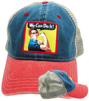 Rosie The Riveter Hat RR-HT SkySupplyUSA.com