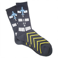 Premium Crew Socks - Runway  Socks-RWY SkySupplyUSA.com