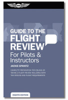 ASA Oral Exam Guide - Biennial Flight Review - NEW 8th Edition ASA-OEG-BFR8 SkySupplyUSA.com