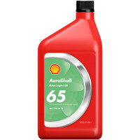 Aeroshell 65 Straight Grade Engine Oil (6 Pack) Aeroshell65-6pack SkySupplyUSA.com