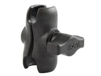 "RAM® Composite Double Socket Arm for 1"" Ball Base, overall length: 2.42"" RAP-B-201U-A SkySupplyUSA.com"