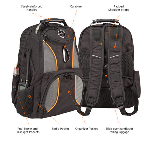 Flight Outfitters WAYPOINT BACKPACK FO-BACKPACK SkySupplyUSA.com